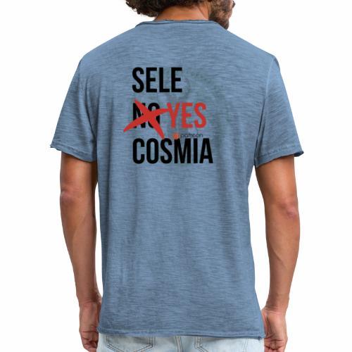 sele no yes cosmia - Men's Vintage T-Shirt