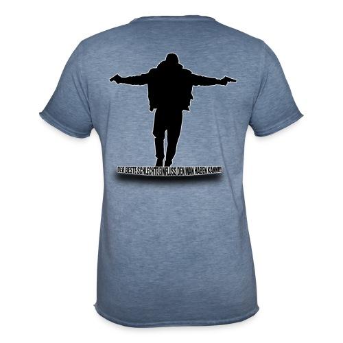 Der Beste Schlechte Einfluss - Männer Vintage T-Shirt