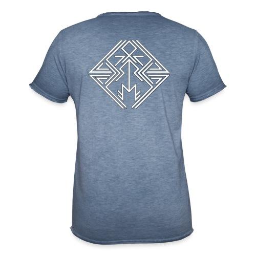 JDW-Designs Logo - Mannen Vintage T-shirt