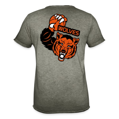 Wolves Basketball - T-shirt vintage Homme