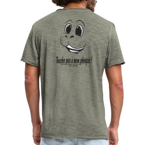 Touche pas a mon phoque de Berck! - T-shirt vintage Homme