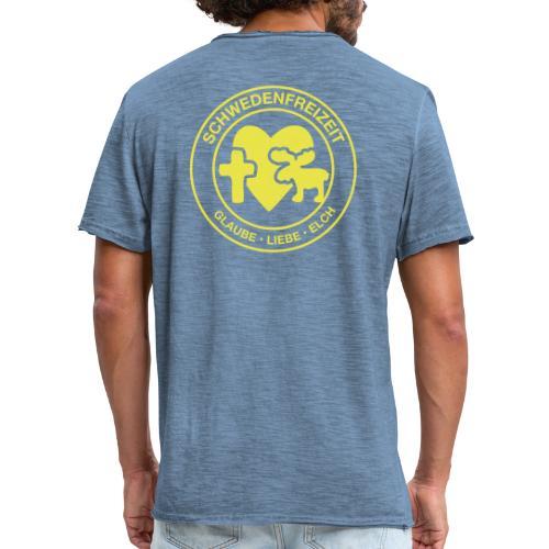 Schwedenfreizeit Logo - Männer Vintage T-Shirt