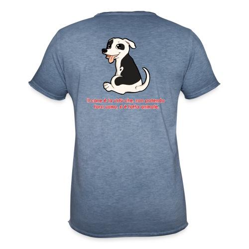 Aforisma cinofilo - Maglietta vintage da uomo