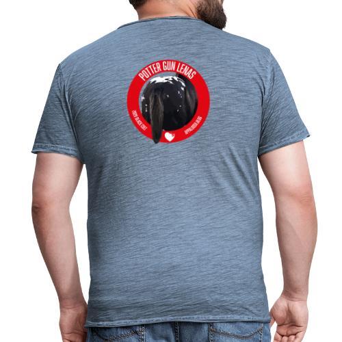 POTTER GUN LENAS - Maglietta vintage da uomo