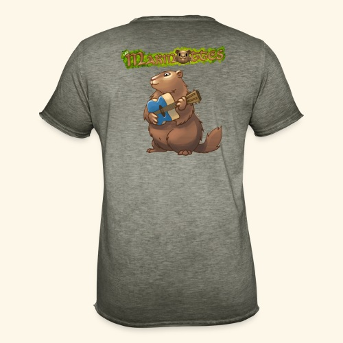 Tshirt Guitare - T-shirt vintage Homme