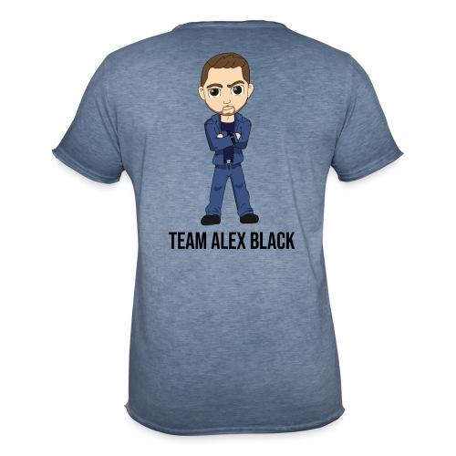 Alex + texte - T-shirt vintage Homme