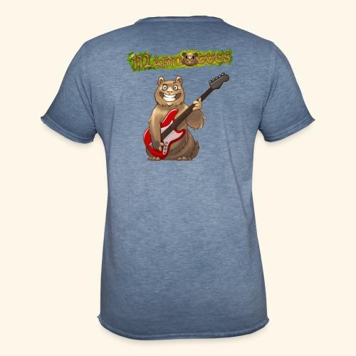 Tshirt Homme Bassiste dos - T-shirt vintage Homme