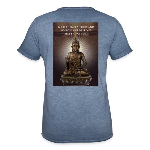Buddha Wisdom - Men's Vintage T-Shirt