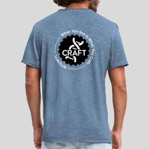 WYSIWYC - What You See Is What You Craft - Herre vintage T-shirt