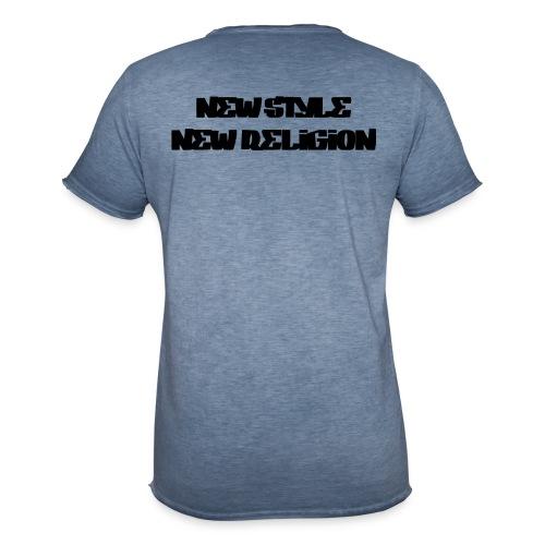 New Style Religion - Camiseta vintage hombre