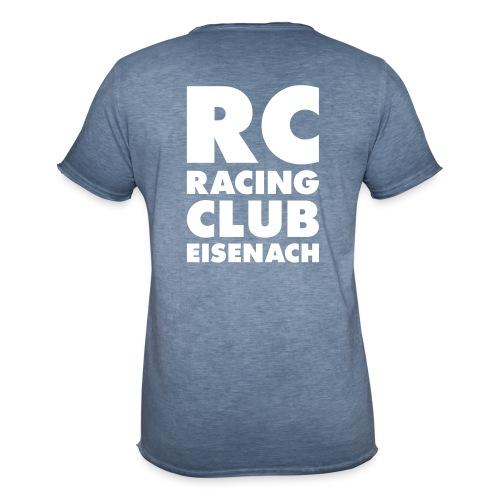 block design v10 - Männer Vintage T-Shirt