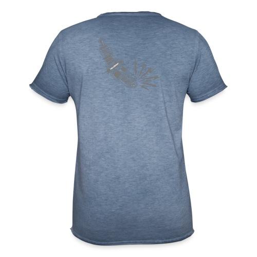 Fehlzünder Kontrast-Pullover - Männer Vintage T-Shirt
