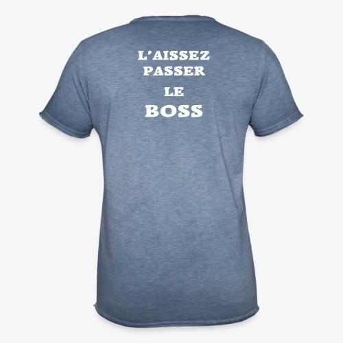 Le Boss - T-shirt vintage Homme