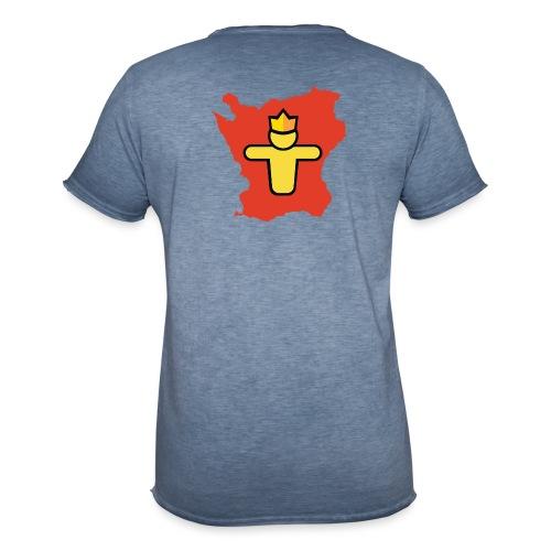 Turf Skåne symbol - Vintage-T-shirt herr