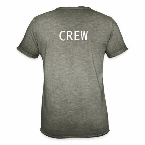 Crew Shirt - Männer Vintage T-Shirt