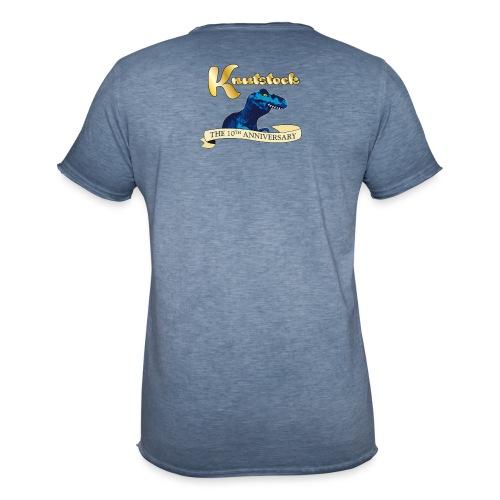 KnutstockAnniversaryBanner Thyranathaurus - Männer Vintage T-Shirt