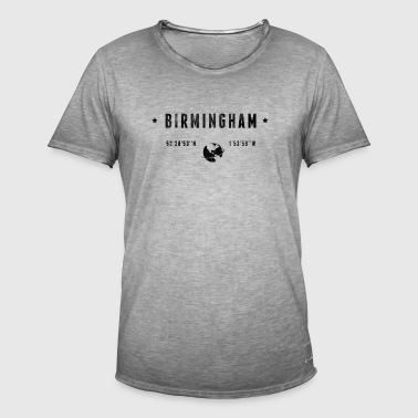 Birmingham - Koszulka męska vintage