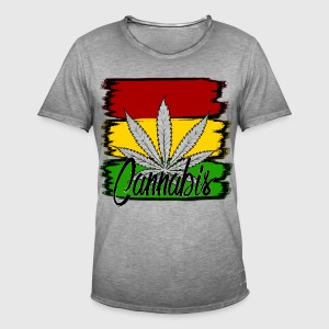 cannabis - Men's Vintage T-Shirt