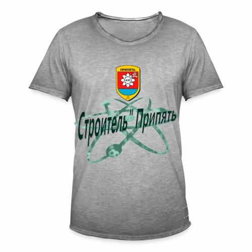 FC STROITEL PRIPYAT - Mannen Vintage T-shirt