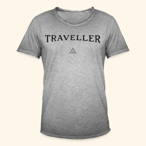 Shirt Reisenden - Männer Vintage T-Shirt