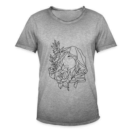 OG woman drawing. - Men's Vintage T-Shirt