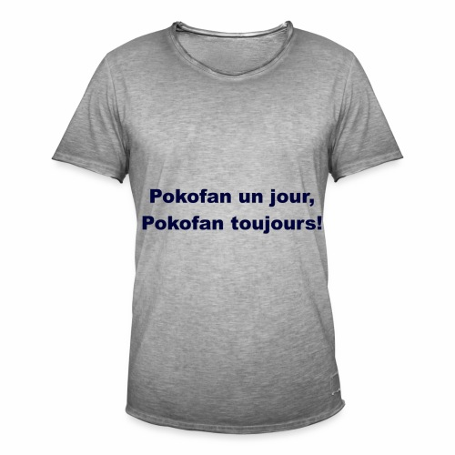 Pokofan - T-shirt vintage Homme
