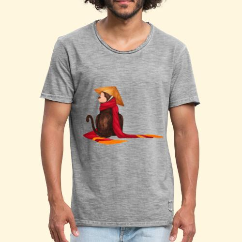 Un singe en hiver - T-shirt vintage Homme