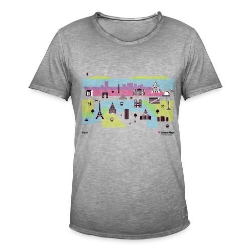 Paris City - Men's Vintage T-Shirt