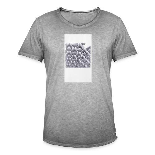 squares - Men's Vintage T-Shirt