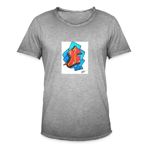 T1 - Mannen Vintage T-shirt