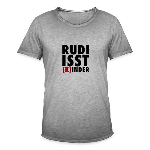 Rudi isst (K)inder - Männer Vintage T-Shirt