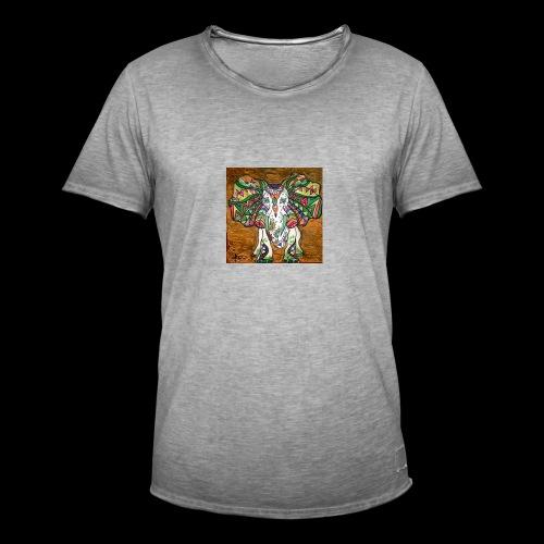elefante - Mannen Vintage T-shirt