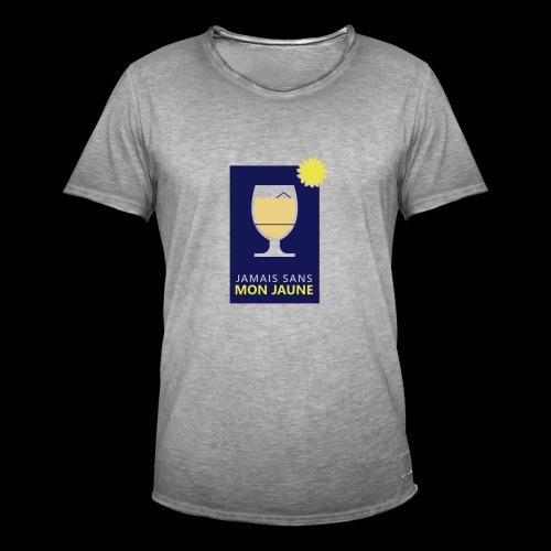 Jamais sans mon jaune - T-shirt vintage Homme