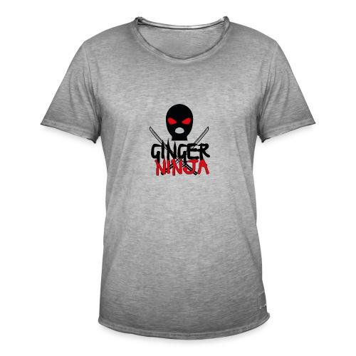 the gingerninja - Männer Vintage T-Shirt