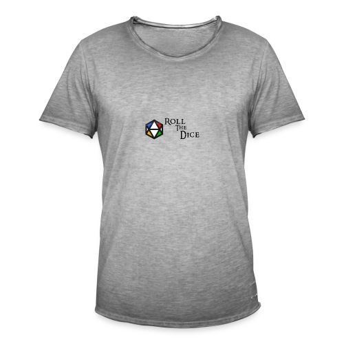 banner png - T-shirt vintage Homme