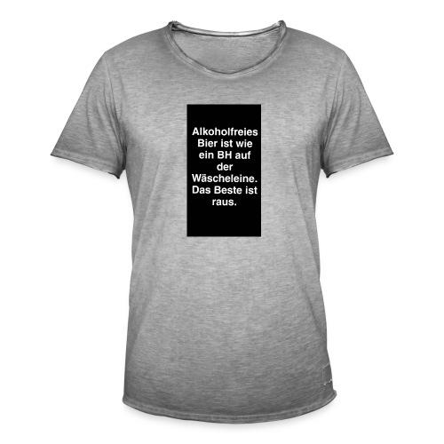 Biertrinker Shirts - Männer Vintage T-Shirt