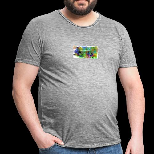 Splash logo 033 - Vintage-T-shirt herr
