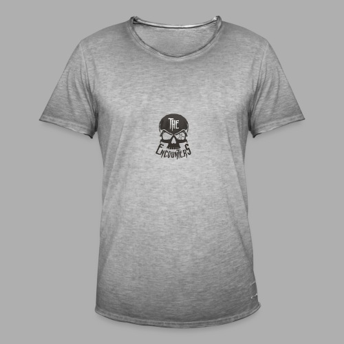 The Encounters Totenkopf - Männer Vintage T-Shirt