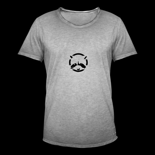 Racoon 1 - T-shirt vintage Homme