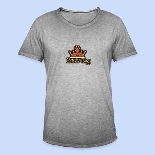 Official Cats&Dogs - Men's Vintage T-Shirt