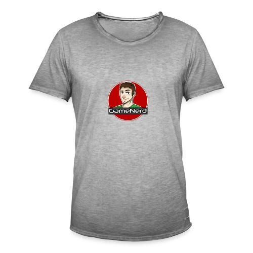 GameNerd Logo - Vintage-T-shirt herr