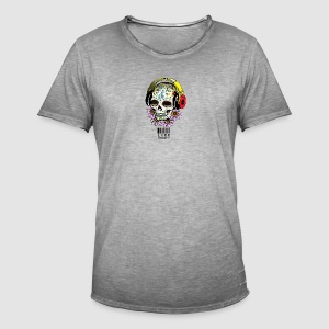 smiling_skull - Men's Vintage T-Shirt
