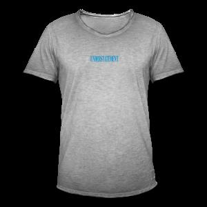 UNDERSTATEMENT - Maglietta vintage da uomo