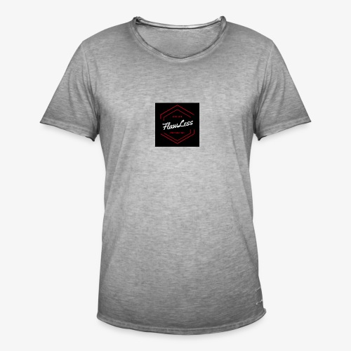 FlawLess Casual - Männer Vintage T-Shirt