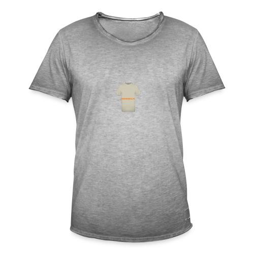 CAMISETA NATURAL-BARRABAJA - Camiseta vintage hombre