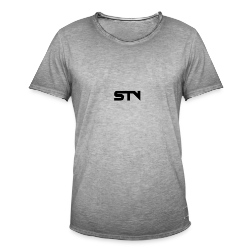 STV Logo Black - Men's Vintage T-Shirt