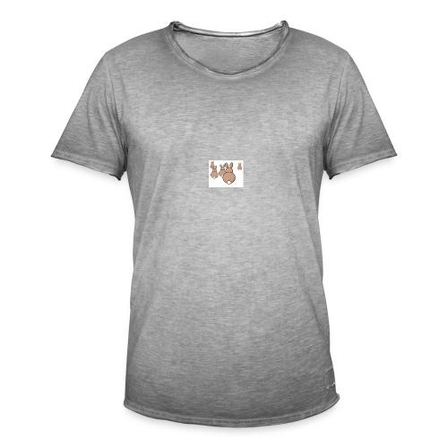 Kaninchen - Männer Vintage T-Shirt