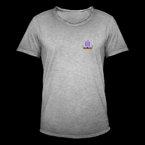 Viking Collection - Vintage-T-skjorte for menn