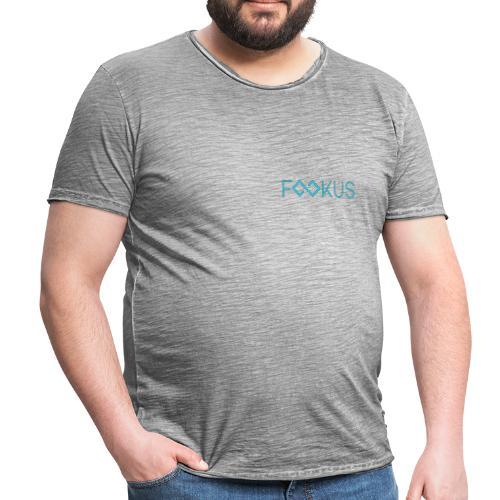 Fookus Logo - Männer Vintage T-Shirt