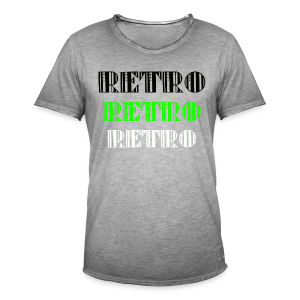 Retro Collections - Vintage-T-skjorte for menn